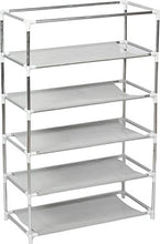 5 Layer Shoe Rack/Shoe Collapsible Almirah Shelf/Folding Shoe Cabinet Portable Foldable Wardrobe, Easy Installation Stand for Shoes - HomeEkart