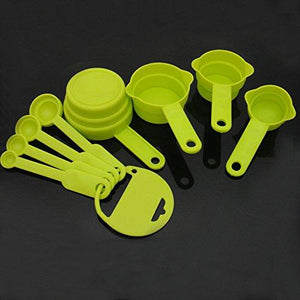 Plastic Spoon Set, 8-Pieces, (colour may be very)