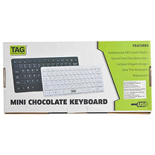 PACK OF 10 TAG - Mini Chocolate Keyboards - HomeEkart