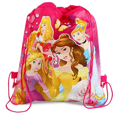 Pack of 5 - Cartoon Printed Dori Bag for Kids Favor / Haversack Bag | Birthday Party Return Gift (for Girls)