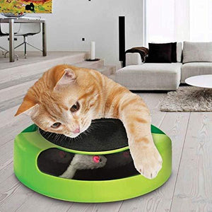 Catch The Mouse Cat Kitten Chaise Toy - HomeEkart