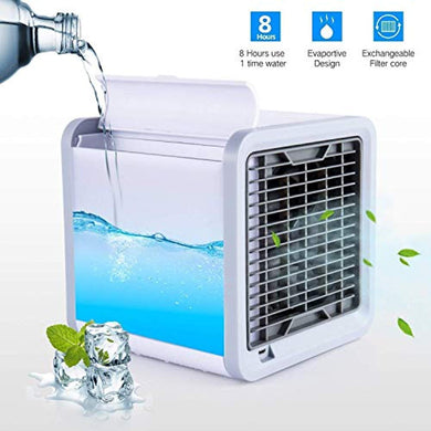 BULK Arctic Air Portable 3 in 1 Conditioner Humidifier Purifier Mini Cooler (White) - HomeEkart