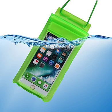 Pack of 10 - All Mobile Phones Waterproof Transparent Phone Pouch Case Cover Touch Sensitive Specially in Rainy Season (Upto 6.2 inch) Waterproof Cell Phone Bag. - HomeEkart