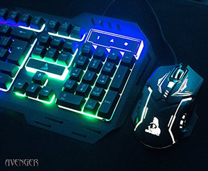 PACK OF 5 Tag Avenger Combo of Gaming Keyboard and Mouse - HomeEkart