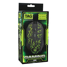 PACK OF 10 TAG USB G5 GAMING MOUSE with Changing LED Light - HomeEkart