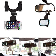 Mobile Mounts - Universal Mobile Car Rear View Mirror Mount Holder - HomeEkart