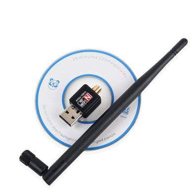 Wireless Wifi Adapter USB Wi fi Antenna 5dB 150Mbps Card Adaptador Wifi Dongle Computer Receptor Wholesale