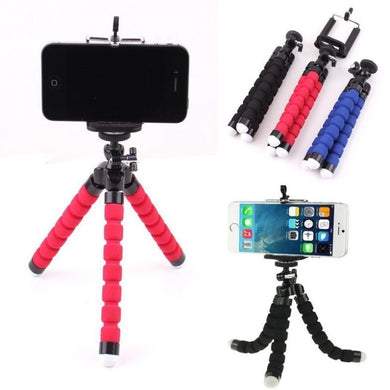 Pack of 10 New Octopus Mini Tripod Stand Grip Holder Mount Mobile Phones Cameras Gadgets - HomeEkart
