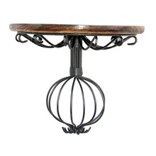 Wooden & Wrought Iron Decorative Wall Bracket/Shelf for Living Room/Bedroom Furniture