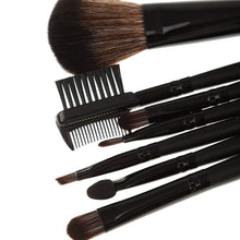 Pack of 10 - Makeup Brush set of 7pcs and 1 Stainless Steel Blackhead Remover Needle Free - HomeEkart