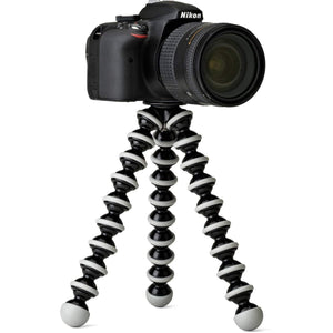 ABS Plastic Foldable Octopus 10 Inches Large Lightweight Flexible Gorilla Tripod with Mobile Attachment - HomeEkart