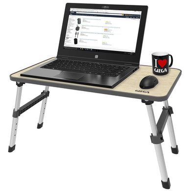 Height Adjustable Foldable Multi-Function Portable Laptop Desk Table/Study Table/Bed Table (Laptop Table Without Fan) - HomeEkart