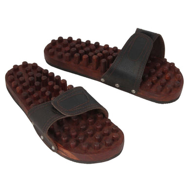 Wooden Relaxing Acupressure Slippers for Good Health