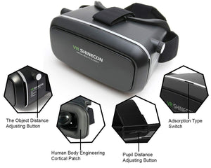 Pack of 10 VR Box 3D Virtual Reality Glasses - HomeEkart