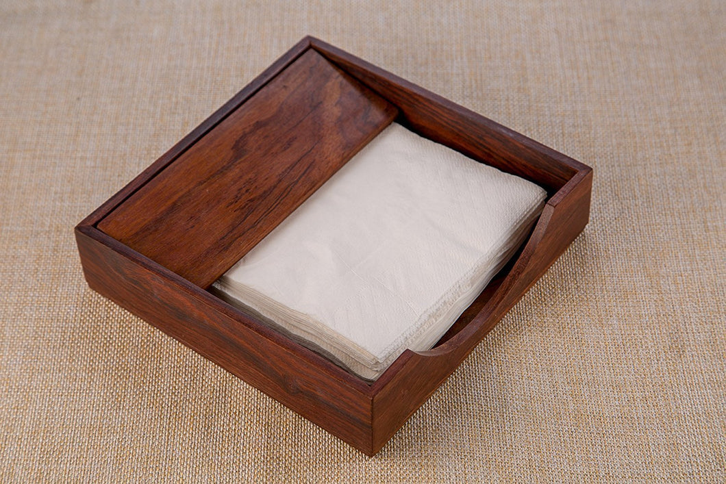 Sheesham Wooden Tissue and Napkin Holder