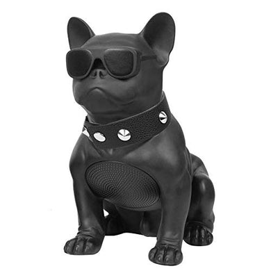 Full Aerobull Nano Wireless Bluetooth Speaker Deep Bass Bulldog Music Player (Black) - HomeEkart