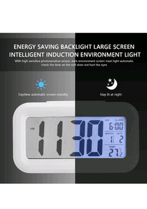 Smart clock home and kitchen