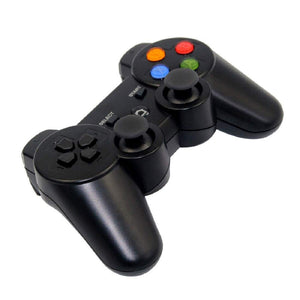N1-3017 Wireless Bluetooth Game pad Controller Joy pad Phone Holder for All Android iOS PC (Black) - HomeEkart