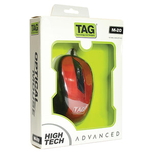 PACK OF 10 TAG USB Mouse M20 - HomeEkart