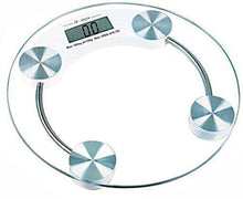 Toughened Glass Electronic Digital Personal Body Weighing Scale White - HomeEkart