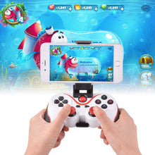 T3 Wireless Bluetooth Game pad Controller Joy pad Phone Holder for All Android iOS PC (White) - HomeEkart