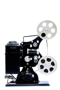 Vintage Table Decoration Movie Projector Machine - Natural Black 270