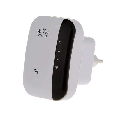 Wireless-N WiFi Repeater Router Signal Booster Extender Amplifier EU Plug - HomeEkart