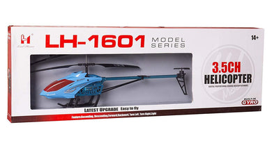 Pack of 5 - Flying Remote Control Helicopter RC Durable Helicopter LH-1601-multicolor