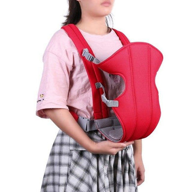 Baby Carrier Adjustable Bag with Fancy Waist Belt (Multicolour) - HomeEkart