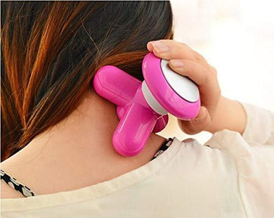 Mini USB Vibration Full Body Massager (Assorted Color) - HomeEkart