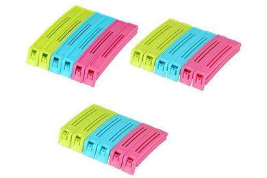 Multi Colour Pouch Sealer Clip, Size: 8.7*11.6*3.3 - HomeEkart