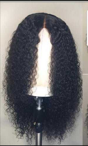 Water wave Lace front wig made with grade 10a