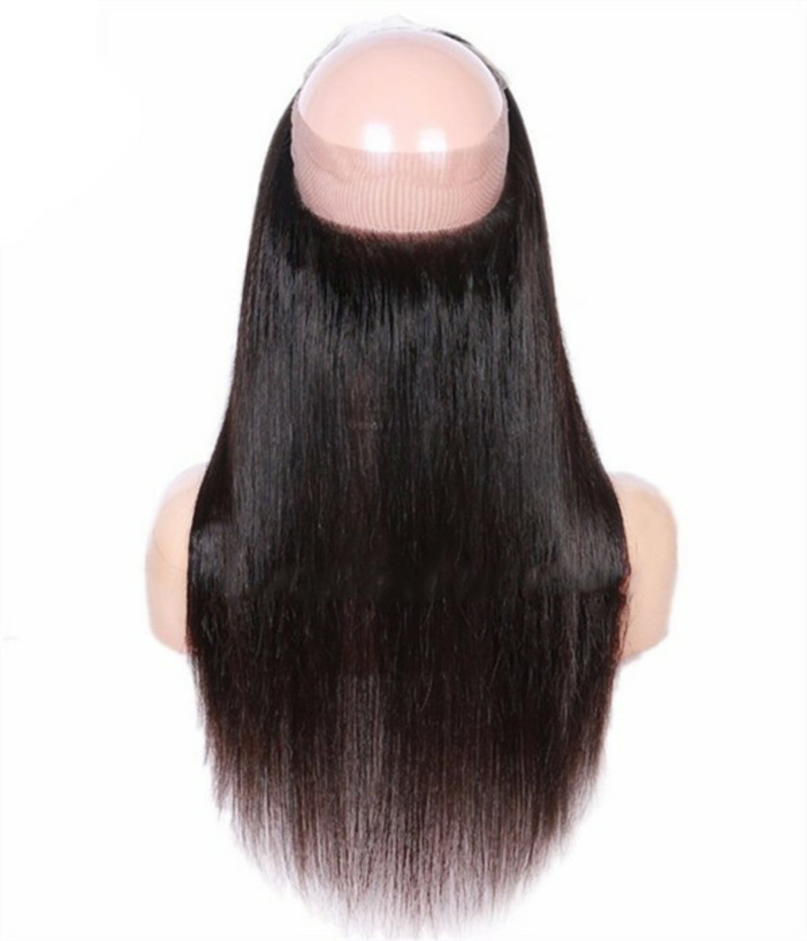 360 Lace Straight Frontal Closure, pre-plucked, with baby hairs. Brazilian, Indian, Malaysian, Peruvian - mslhair