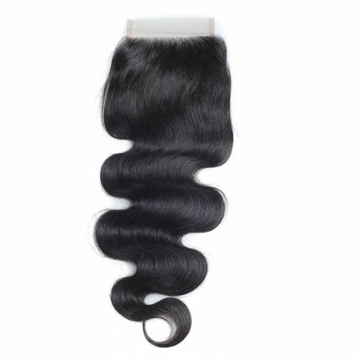 4 By 4 Silk Base Body wave Three Part, Middle Part, and Free Part closure, pre-plucked, with baby hairs - mslhair