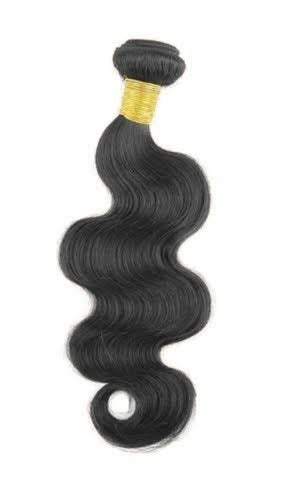 Indian Silky Body wave virgin hair in color 1b, double drawn hair. - mslhair