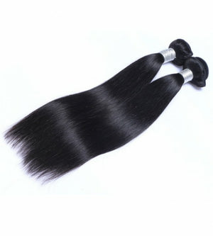 Two (2) Bundles of Silky Straight grade 10a - mslhair