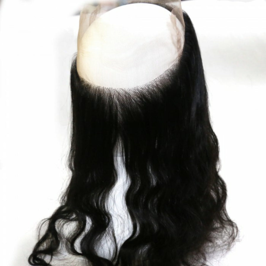 360 Lace Body wave Frontal closure, pre-plucked, with baby hairs. Brazilian, Indian, Malaysian, Peruvian - mslhair