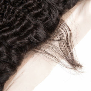 13 By 4 Ear To Ear Frontal Deep wave closure, pre-plucked, with baby hairs. Brazilian, European, Indian, Malaysian, Peruvian - mslhair