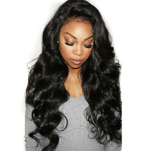European Body wave virgin hair in color 1b, double drawn hair. - mslhair