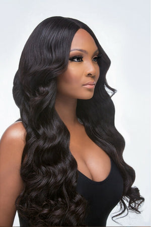 European Loose wave hair in color 1b, grade 10a - mslhair