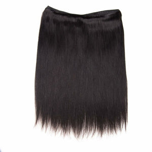 Silky Straight virgin hair in color 1b, grade 10a - mslhair
