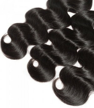 Three (3) Bundles of Silky Body wave Double drawn - mslhair