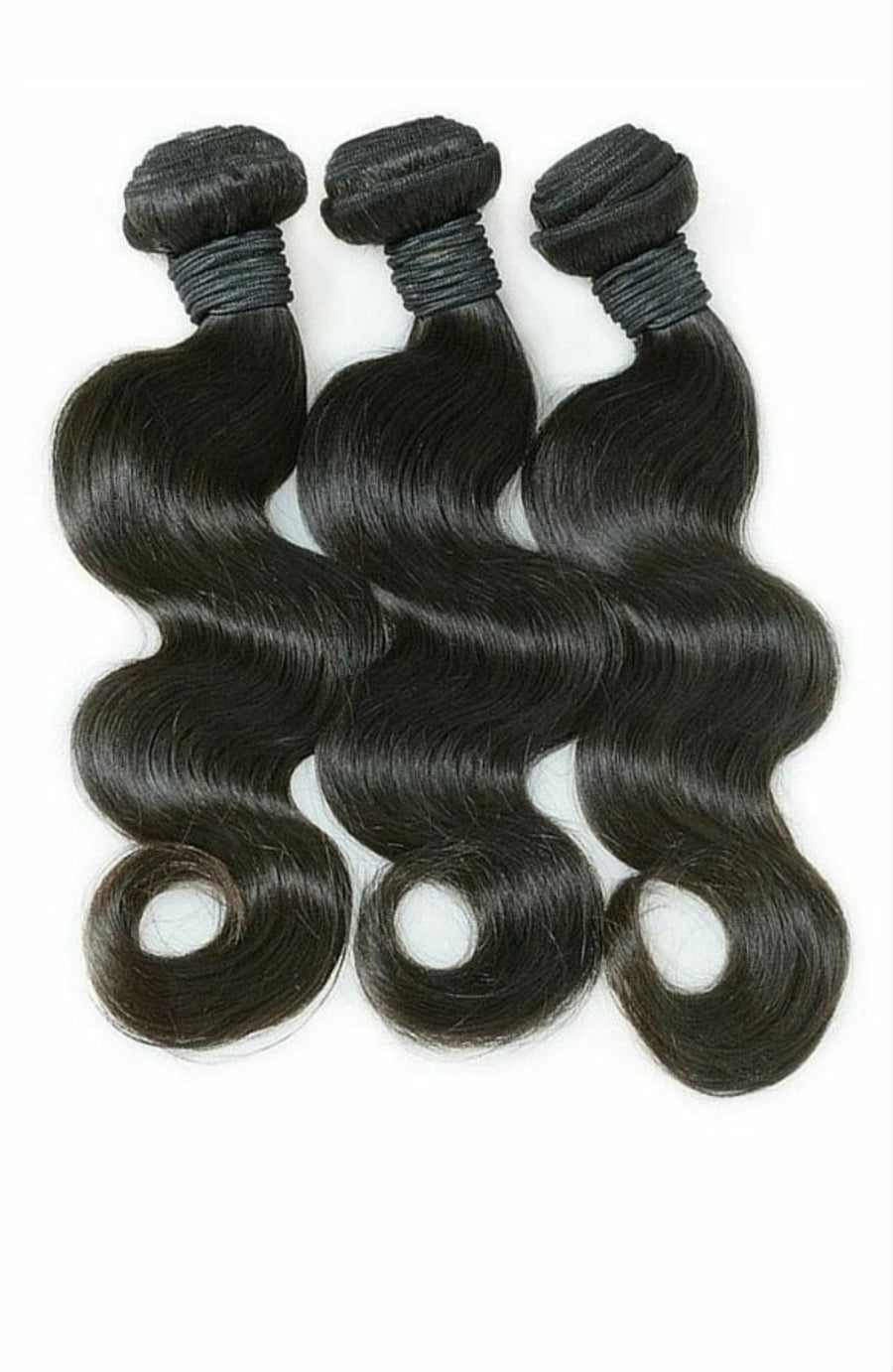 Three (3) Bundles of Silky Body wave grade 10a - mslhair