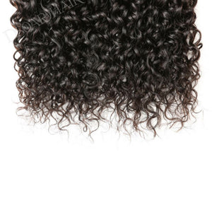 Three (3) Bundles of Silky jerry Curly grade 10a - mslhair