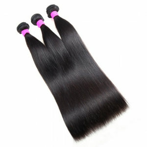Three (3) Bundles of Silky Straight wave grade 9a - mslhair