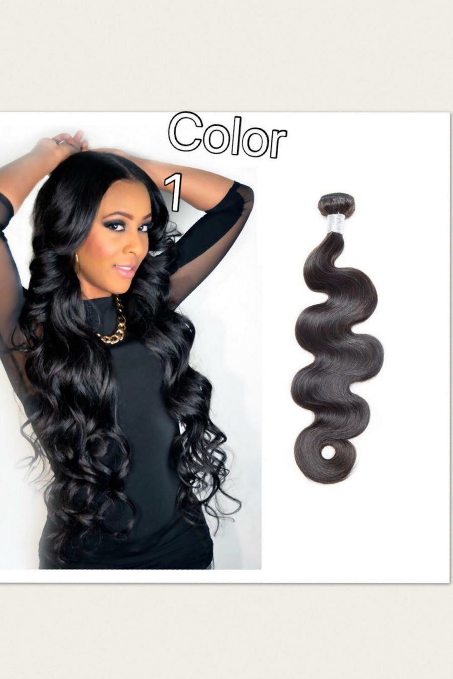 Dyed Bodywave hair weave bundles  in color 1,1b/27, 1b/30,  27  for brazillian, Peruvian, Indian,and Malaysian. - mslhair