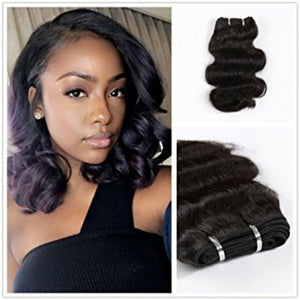Two (2) Bundles of Silky Body wave grade 9a - mslhair