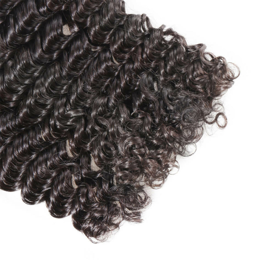 Two (2) Bundles of Silky jerry Curly wave grade 10a - mslhair