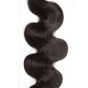 Two (2) Bundles of Silky Body wave Double drawn - mslhair
