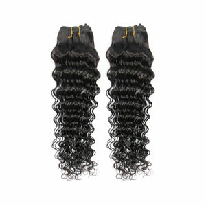 Two (2) Bundles of Silky Deep wave grade 9a - mslhair